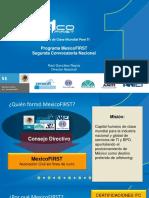 Presentacion MexicoFIRST-2da Convocatoria Nacional