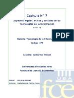 C7_Aspectos Legales, Eticos y Sociales de Las Tecnologías de La Inofrmación