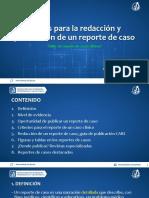 Pautas para la publicación y redacción de reportes de caso