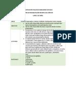 Planificación Taller de Habilidades Sociales