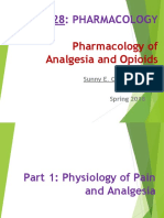 Pharmacology of Analgesia and Opioids(1)