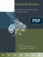 Experimental Evolution - Concepts, Methods, And Applications Of