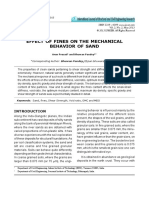 Effect of Fines on the Mechanical