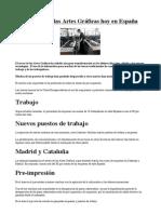 El sector de las Artes Gráficas hoy en España