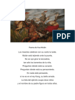 307586206 Poema de Hua Mulan