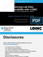 2018 04 - Advancing Lab Data Interoperability with LOINC