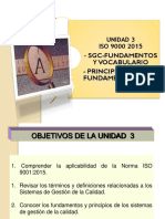 Unidad 3 Fund y Vocabulario 2016