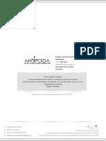 Las Fronteras Simbólicas Entre Expertos y Víctimas. Revista de Arqueología y Antropología Antípoda.