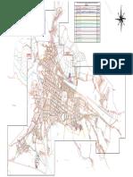 Plano Ciudad de Huamachuco