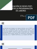11 Aplicación de Redes Pert-cpm en La Programación de Labores