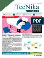 Biotecnika - Newspaper 1st Jan 2018