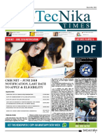 Biotecnika - Newspaper 6 March 2018