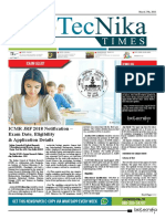 Biotecnika - Newspaper 27 March 2018