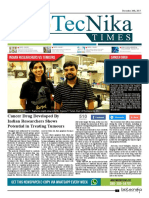 Biotecnika - Newspaper 26th Dec 2017