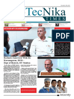 Biotecnika - Newspaper 27th Nov 2017