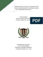 Sistema de Información Para El Apoyo de La Gestión Integral de Los Residuos de Aparatos Eléctrico