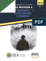 Un Llamado a La Accion Para Proteger a Los Ciudadanos,Sector Privado y Gobiernos OEA Awswhitepaper