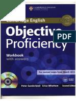 Objective Proficiency Workbook With Key_2ed, 2013 -120p