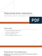 Discussion9 Polynomial Reductions
