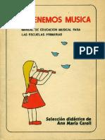 Hoy Tenemos Música Ana María Caroli Primer Suplemento