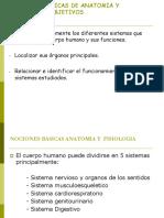 Nociones Basicas de Anatomia y Fisiologia
