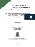 4081. a Study on Buying Behavior of Customers in Big Bazaar in Ncr[Gnit]