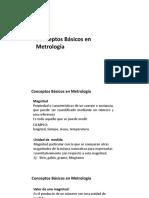 Conceptos Basicos de Metrologia