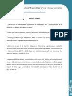 Archivos de Apoyo Actividad de Aprendizaje 2. Tasas, Valores y Equivalentes