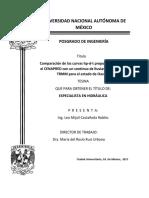 Análisis de intensidad de lluvias máximas TRMM en Oaxaca