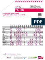Tours-Vierzon-Bourges-Nevers  8 avril