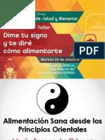 Conferencia Alimentacion Sana- Maria Fernanda Gomez