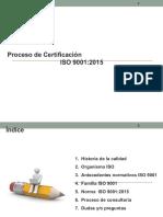 Sensibilizacion en Iso 9001 2015