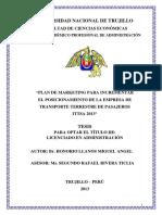 Plan de marketing para incrementar el posicionamiento de la empresa de transporte terrestre de pasajeros  ittsa 2013.pdf