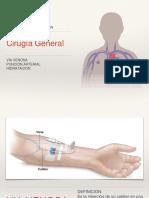 Via Venosa y Puncion Arterial