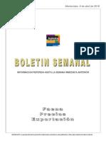 Matriz Boletin y Anexo 31-03-2018