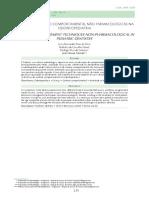 Artigo Psicologia Em Odontopediatria