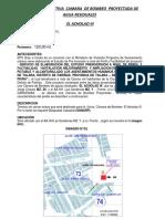 Md. Camara Bombeo El Acholao III Modificado 24 Junio