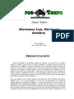 Yolen, Jane - Hermana Luz, Hermana Sombra.doc