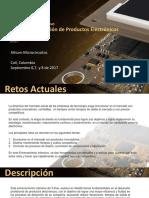 Curso Intensivo de Diseño y Fabricación de Productos Electrónicos Profesionales Septiembre.