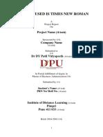 kuhs thesis protocol
