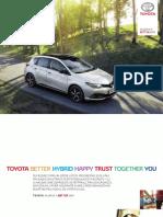 Toyota Auris 2018 Presentation