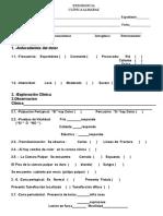 Hoja Diagnostico Endodoncia 2012 - Copia