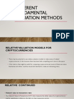 Different Fundamental Valuations