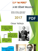 Biografia César Vallejo