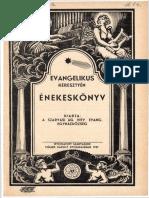 Szarvasi Énekeskönyv 1937