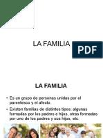 La Familia ( Funciones)
