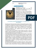 Investigación de Amenemope