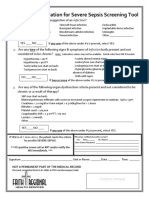 Evaluation for Severe Sepsis Screening Tool for FRHS Pediatrics NLMRD 09.11