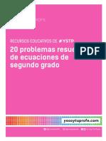 cuadernoproblemasdeecuacionessegundogrado_30112017