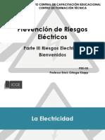 Prevencion de Riesgos Electricos Parte 3
